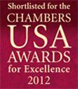 US Shortlist Badge 2012, Chaffetz Lindsey LLP